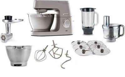 KENWOOD Küchenmaschine Chef Elite KVC5401S, 1200 W, 4,6 l Schüssel, 3tlg. Patisserie-Set Pro, inkl. Gratiszubehör im Gesamtwert von UVP ? 339,97