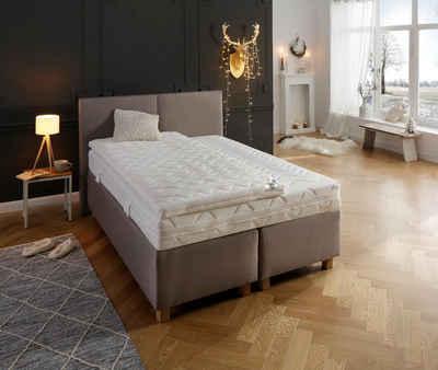 Topper »Sandy«, my home, 8 cm hoch, Raumgewicht: 30, Komfortschaum, in 3 Festigkeiten, individuelle Druckentlastung