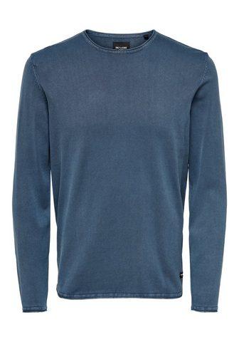 ONLY & SONS ONLY & SONS пуловер с круглым выре...
