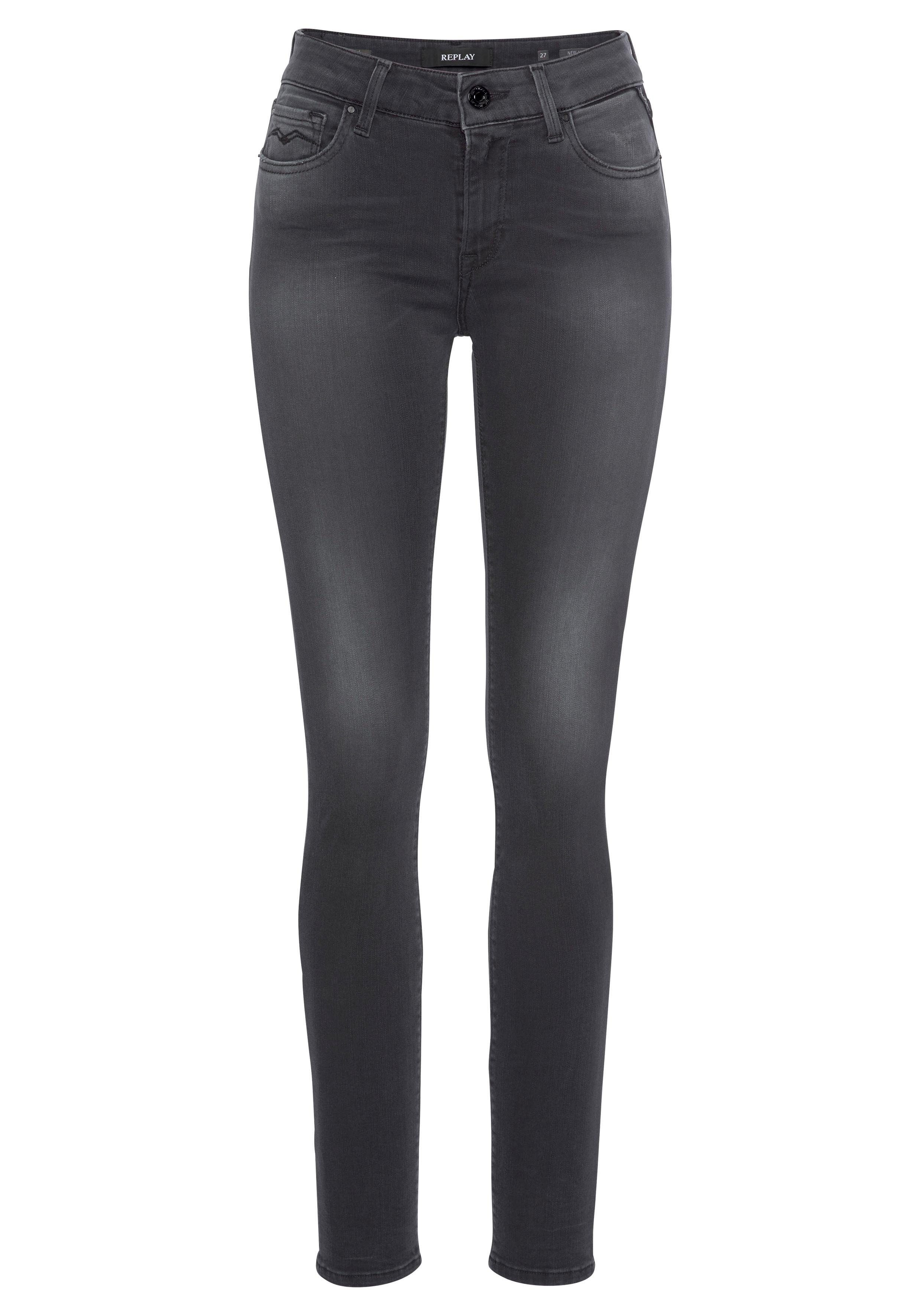 Replay Skinny fit Jeans »NEW LUZ« in leichter Used Optik online kaufen | OTTO