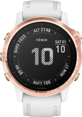 GARMIN F?nix 6 S ? Pro Išmanus laikrodis (12 ...