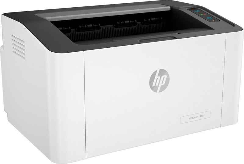 HP 107w Laserdrucker, (WLAN (Wi-Fi)