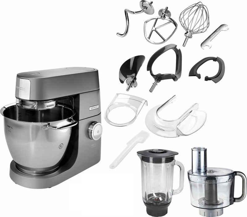 KENWOOD Küchenmaschine Chef XL Titanium KVL8361S, 1700 W, 6,7 l Schüssel, 5tlg. Patisserie-Set Pro, inkl. Gratiszubehör im Wert von UVP € 425,75