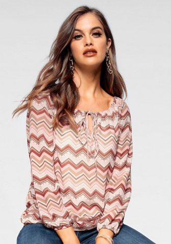 HaILY?S блузка в стиле кармен »C...