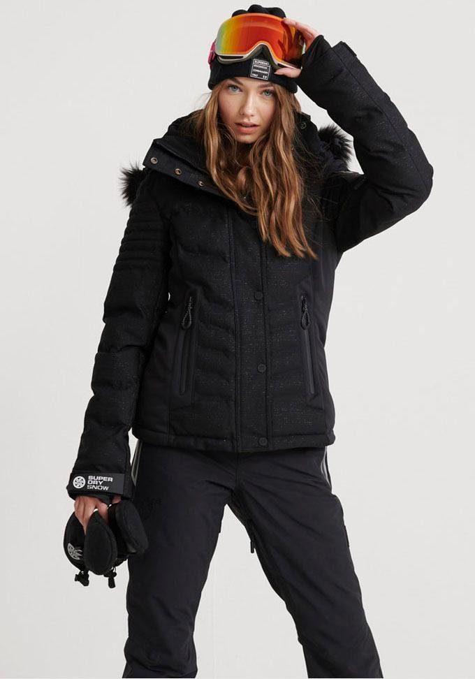 ReißverschlusstaschenFunktionsjackeWintersport Vielen KaufenOtto Snow Schneejacke Online Superdry »luxe Puffer« Trendigen Mit DbWHI9YE2e