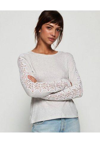 SUPERDRY Marškinėliai ilgomis rankovėmis »LACE ...