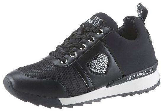 LOVE MOSCHINO Sneaker mit Wechselfußbett