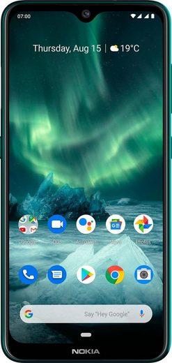 Nokia 7.2 Smartphone (16 cm/6,3 Zoll, 64 GB Speicherplatz, 48 MP Kamera)