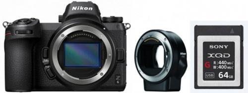Nikon »Kit Z 6 + FTZ« Systemkamera (24,5 MP, Bluetooth, WLAN (Wi-Fi)