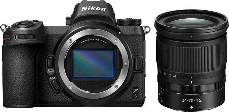 Nikon »Kit Z 6 24–70 mm 1:4« Systemkamera (NIKKOR Z 24–70 mm 1:4 S, 24,5 MP, Bluetooth, WLAN (Wi-Fi)