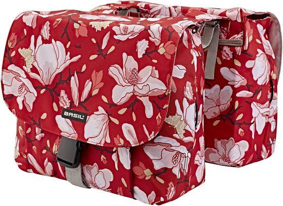 Basil Gepäckträgertasche »Magnolia S Doppel-Gepäckträgertasche 25l«