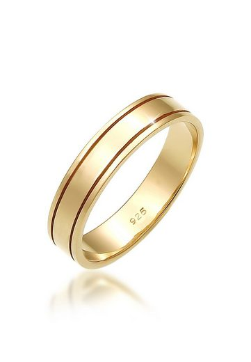 Elli Fingerring »Paarring Bandring Trauring Hochzeit 925 Silber«