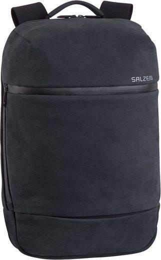 Salzen Laptoprucksack »Savvy Daypack Leather«