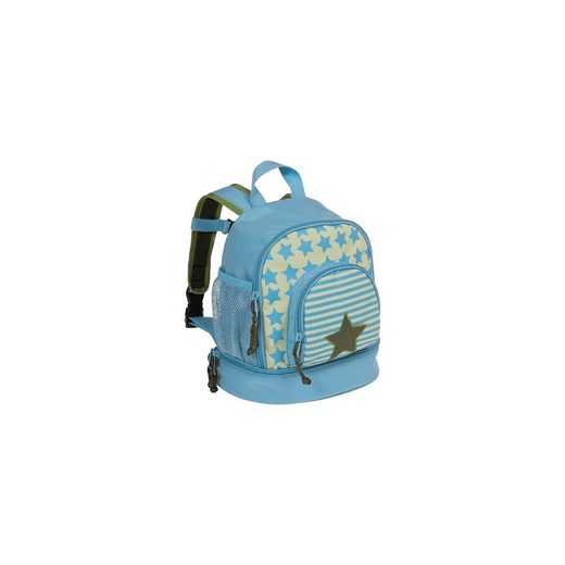 Lässig Kindergarten Rucksack 4kids, Mini Backpack, Starlight oliv