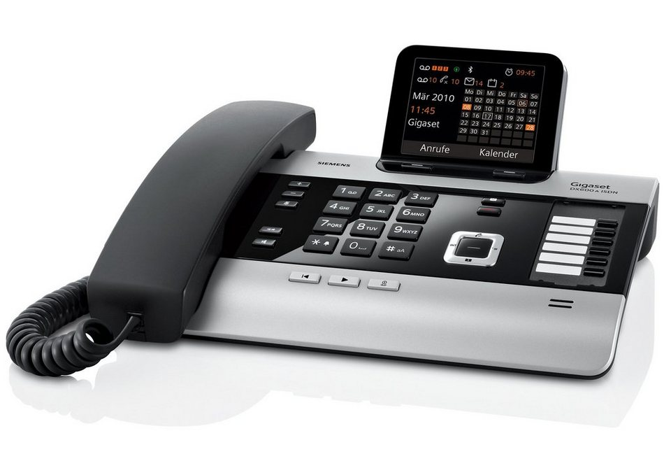 gigaset dx600a schnurgebundenes isdn telefon mit ab online kaufen otto. Black Bedroom Furniture Sets. Home Design Ideas