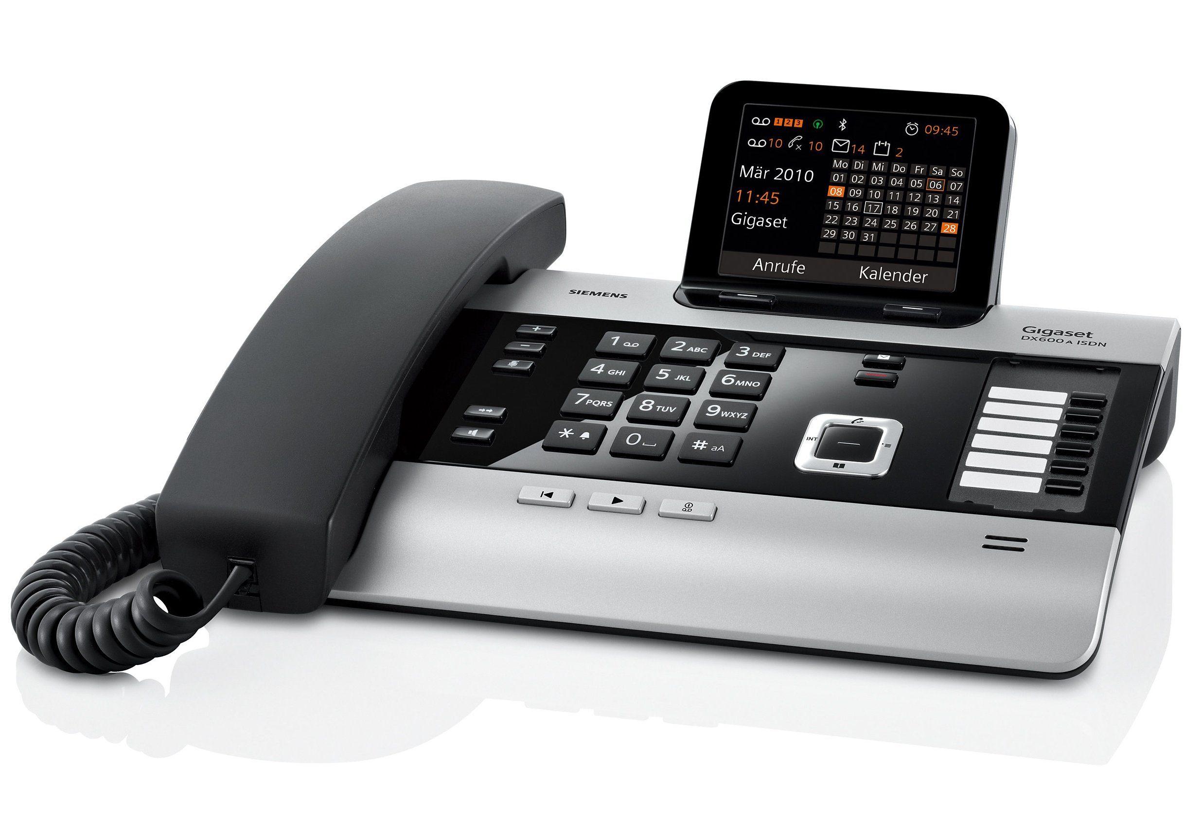 Gigaset DX600A Schnurgebundenes ISDN Telefon mit AB