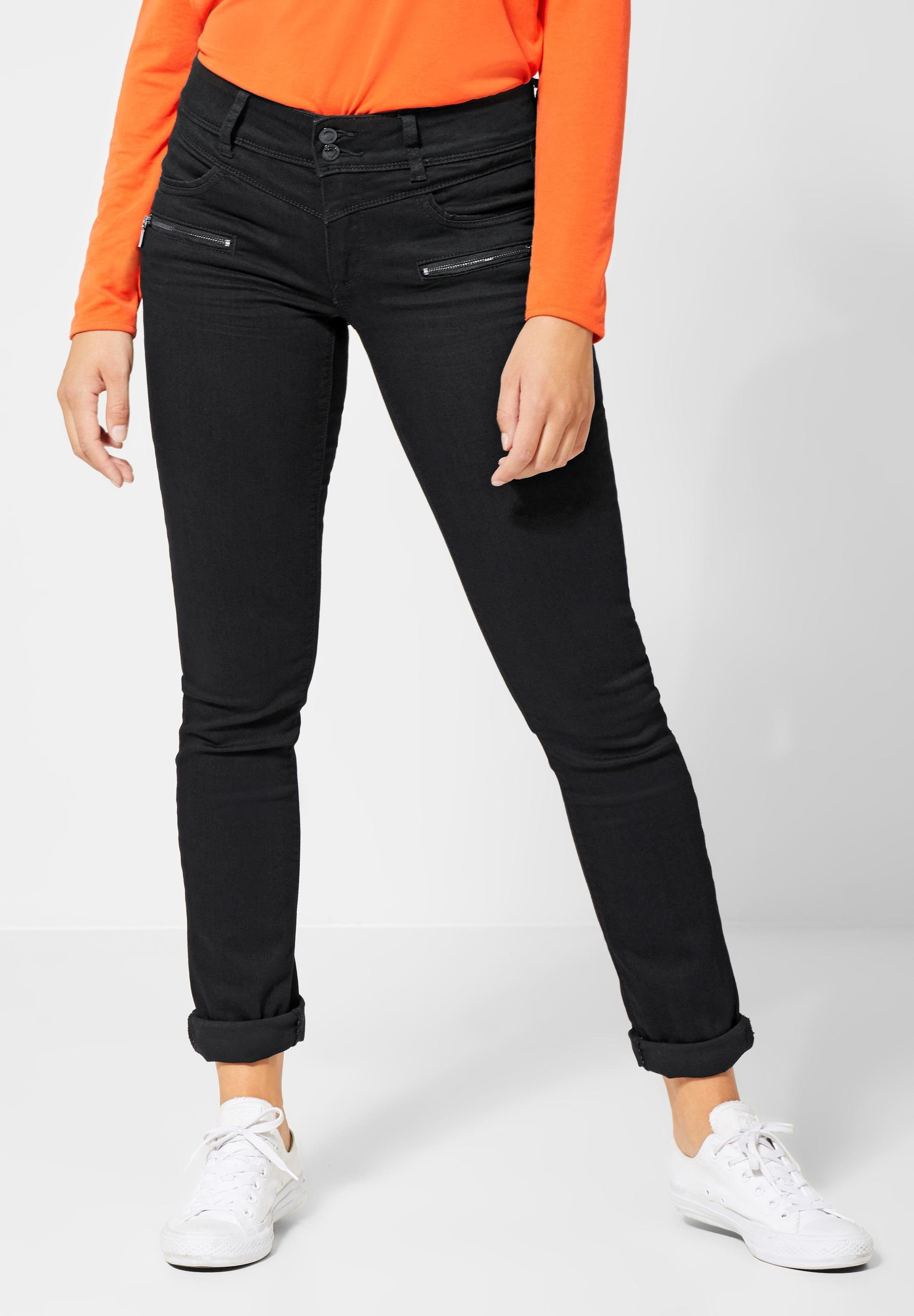 STREET ONE Comfort fit Jeans mit Crinkles kaufen | OTTO