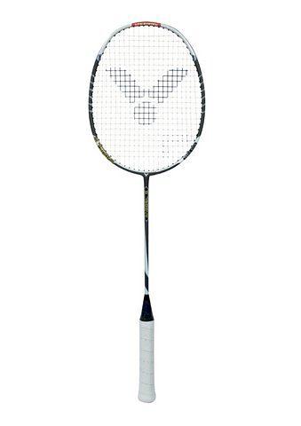 Set: Badminton Carbon-Schläger inkl. Griffbänder und Tasche. Komplett besaitet, Victor, »G 7500«