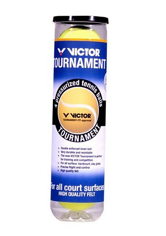 Tennisbälle, Victor (4er Pack)