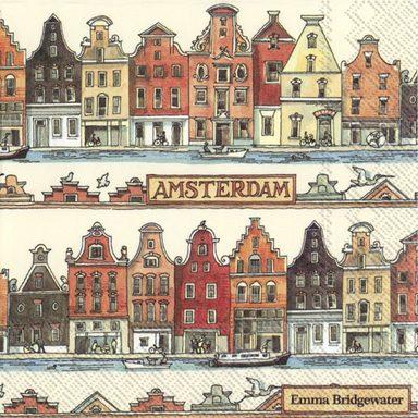 Serviette 'Amsterdam'