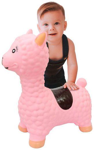 Jamara Hüpftier »Lama«, für Kinder ab 12 Monaten, BxLxH: 25x47x54 cm