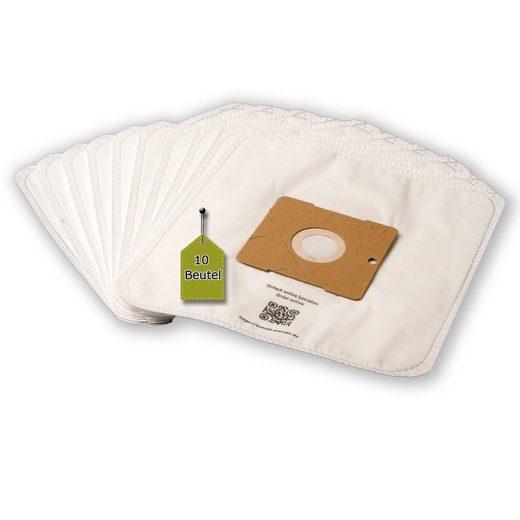 eVendix Staubsaugerbeutel Staubsaugerbeutel passend für IdeLine 640 - 031, 10 Staubbeutel + 1 Mikro-Filter, kompatibel mit SWIRL Y101, passend für IdeLine