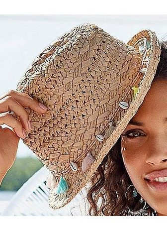 LASCANA šiaudinė skrybėlė