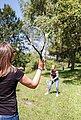 Sunflex Speed-Badmintonschläger »Speed Badminton Sonic« (Set, 5-tlg., mit Bällen, mit Schlägerhülle, mit Tasche), Bild 4