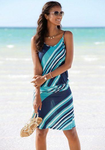 Beachtime Strandkleid mit Streifendesign