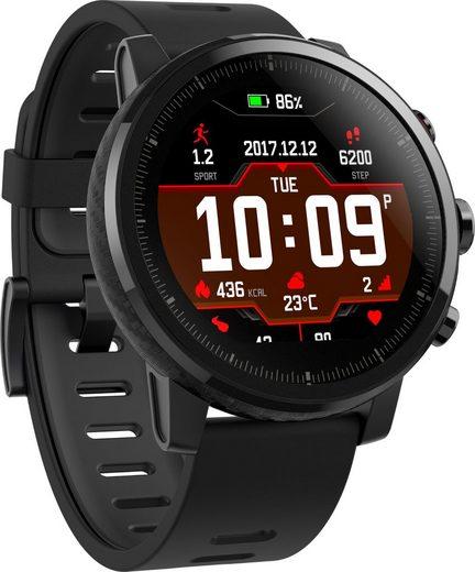 Amazfit Stratos (black) Smartwatch (3,4 cm/1,34 Zoll)
