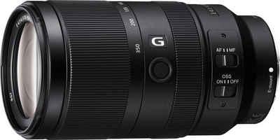 Sony »SEL-70350G E-Mount Super-Telezoom« Objektiv, (E 70-350mm F4.5-6.3 G, OSS, APS-C)