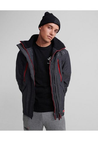 SUPERDRY Куртка ветровка »HOODED POLAR WI...