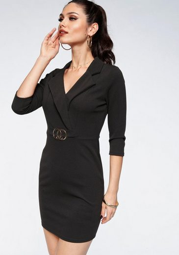 Melrose Jerseykleid mit elegantem Kragen