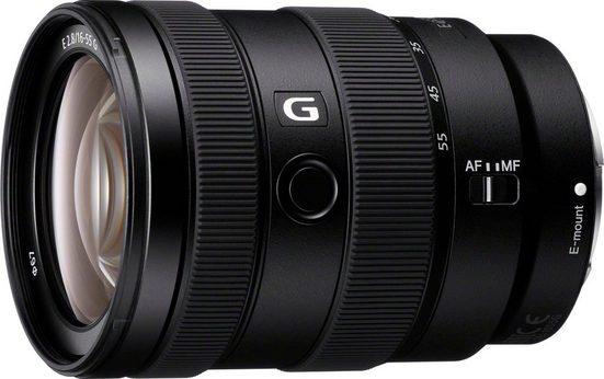 Sony »SEL1655G E-Mount Standard Zoom« Objektiv, (E 16-55mm F2.8 G, APS-C)