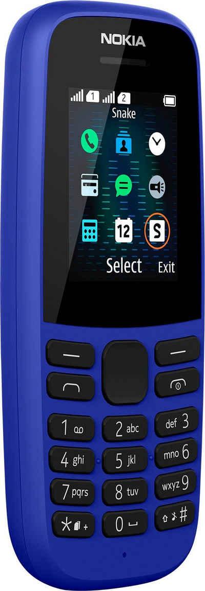 Nokia 105 (2019) Handy (3,68 cm/1,7 Zoll)