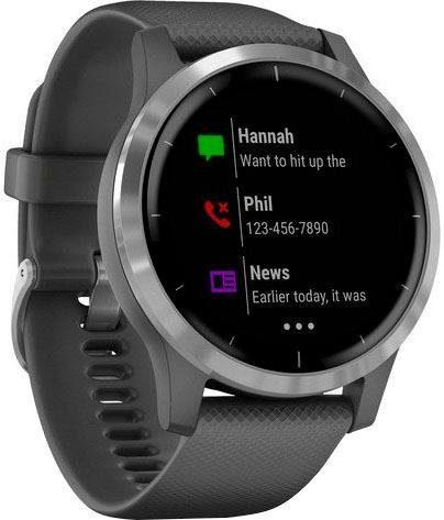 Garmin VIVOACTIVE 4 Smartwatch (3,3 cm/1,3 Zoll)