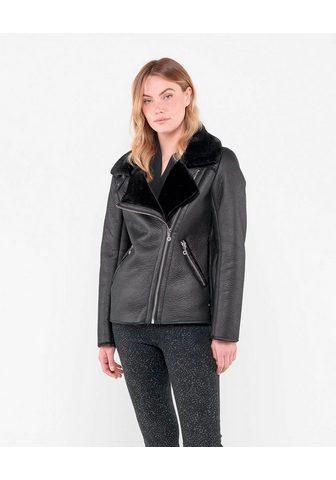 Куртка с красивый Kunstfellbesatz