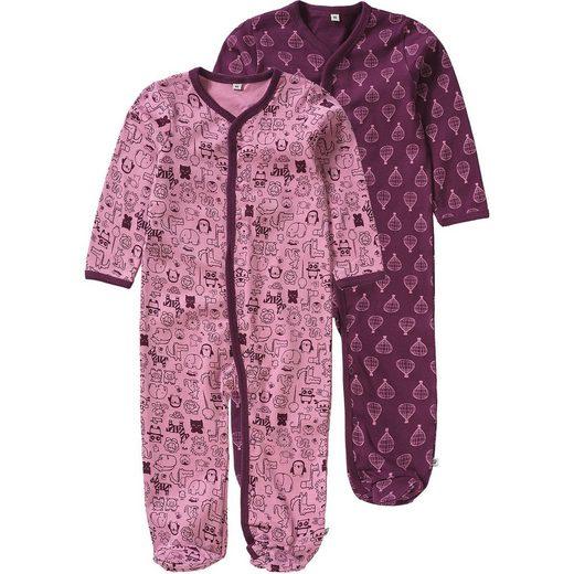 pippi Schlafanzug 2er Pack für Mädchen