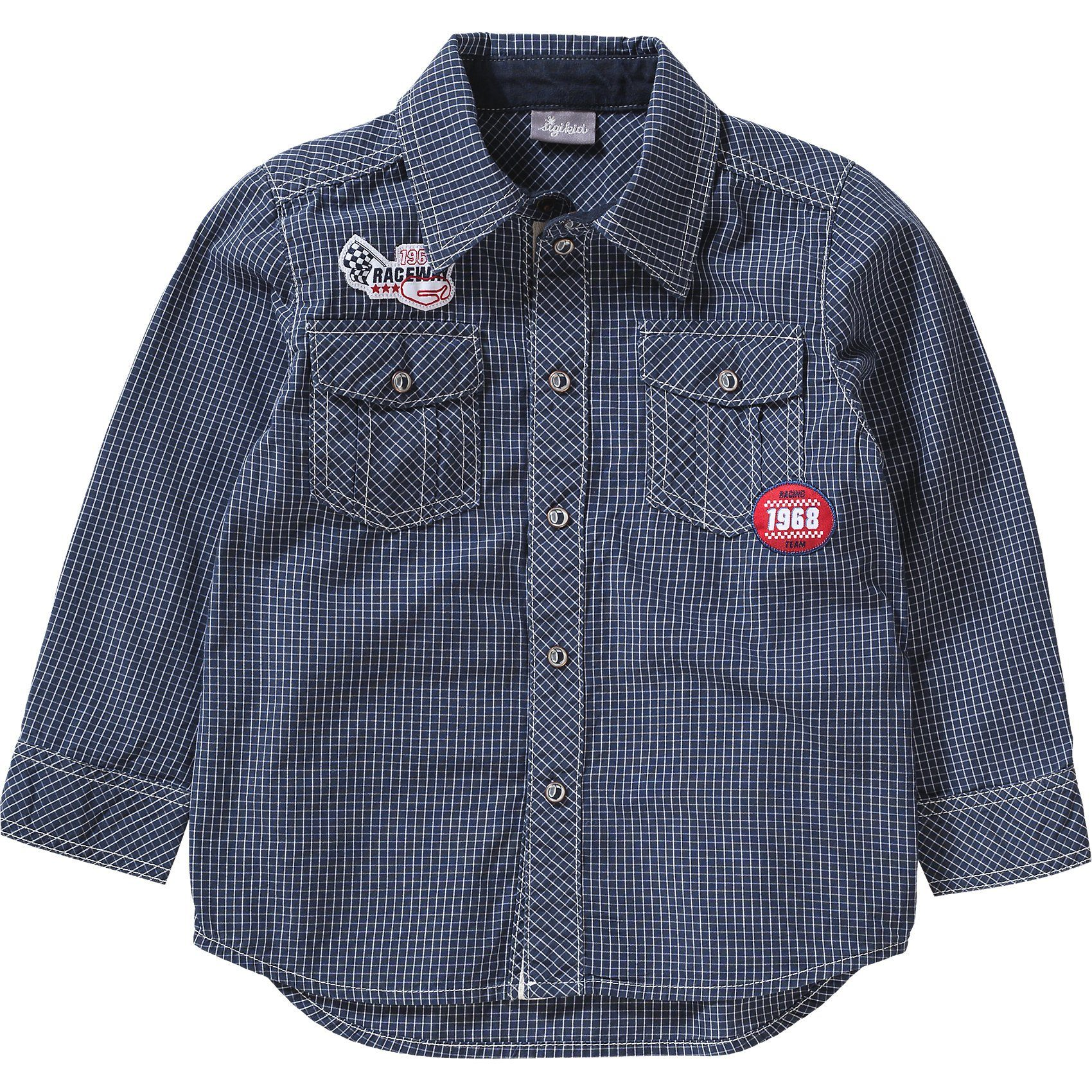 Herren,  Kinder Sigikid Kinder Hemd blau   04045646073717