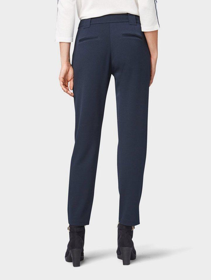 tom tailor -  Stoffhose »Locker geschnittene Ankle Hose«