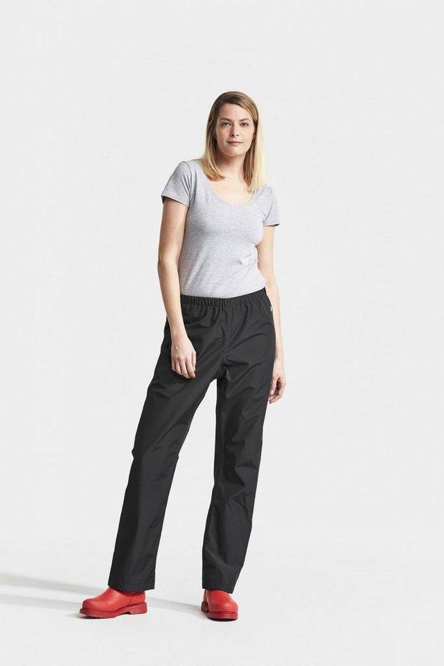 Didriksons Regenhose »Grand« Womens Pants mit verklebten Nähten | Sportbekleidung > Sporthosen > Regenhosen | Schwarz | Didriksons