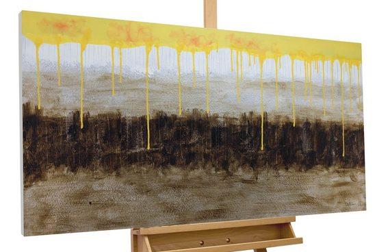 KUNSTLOFT Gemälde »Aura of Earthly Souls«, handgemaltes Bild auf Leinwand