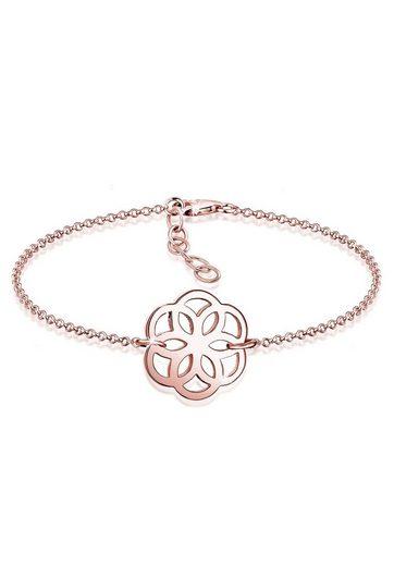 Elli Armband »Blume Ornament Flower of Life 925 Sterling Silber«