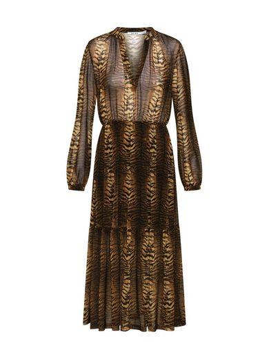 NA-KD Chiffonkleid »Tiger Dress« Volant