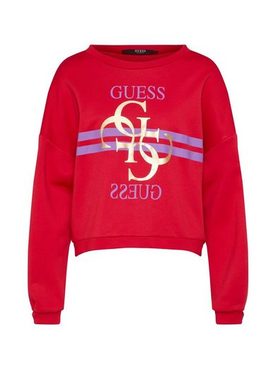 Guess Sweatshirt »G LOGO FLEECE«