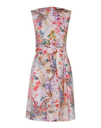 Esprit Collection Sommerkleid »printed cotton« Falten