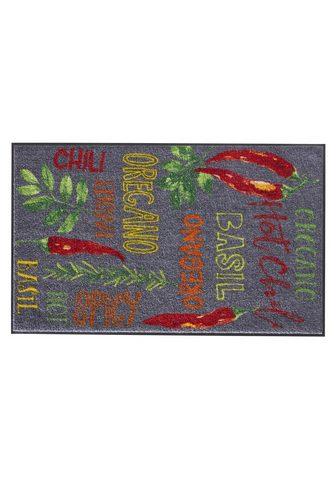 HEINE HOME Durų kilimėlis Hot Chili lengvai priži...