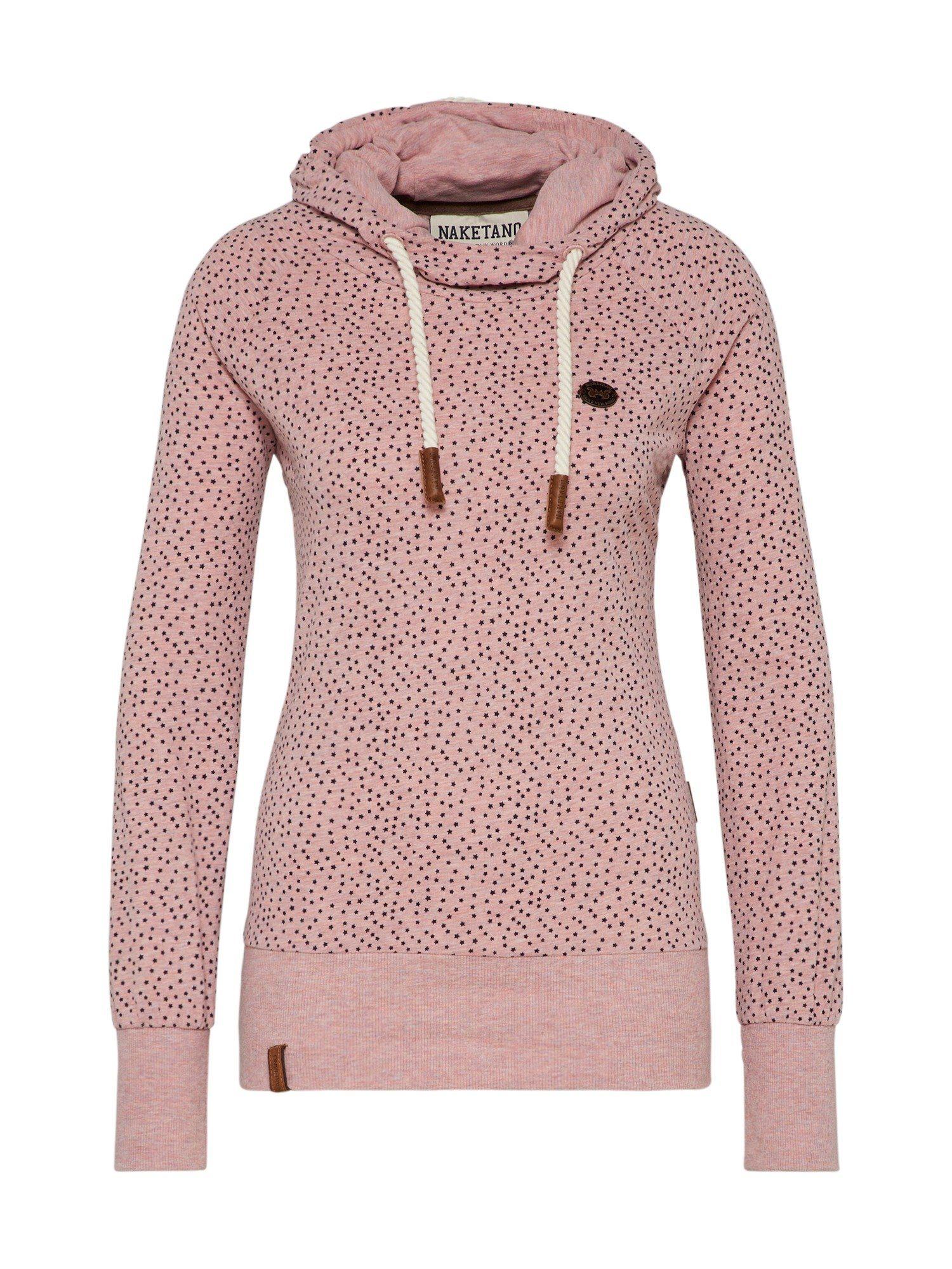 naketano Sweatshirt, Hoody mit überschlagenem Kragen und Allover Druck online kaufen | OTTO