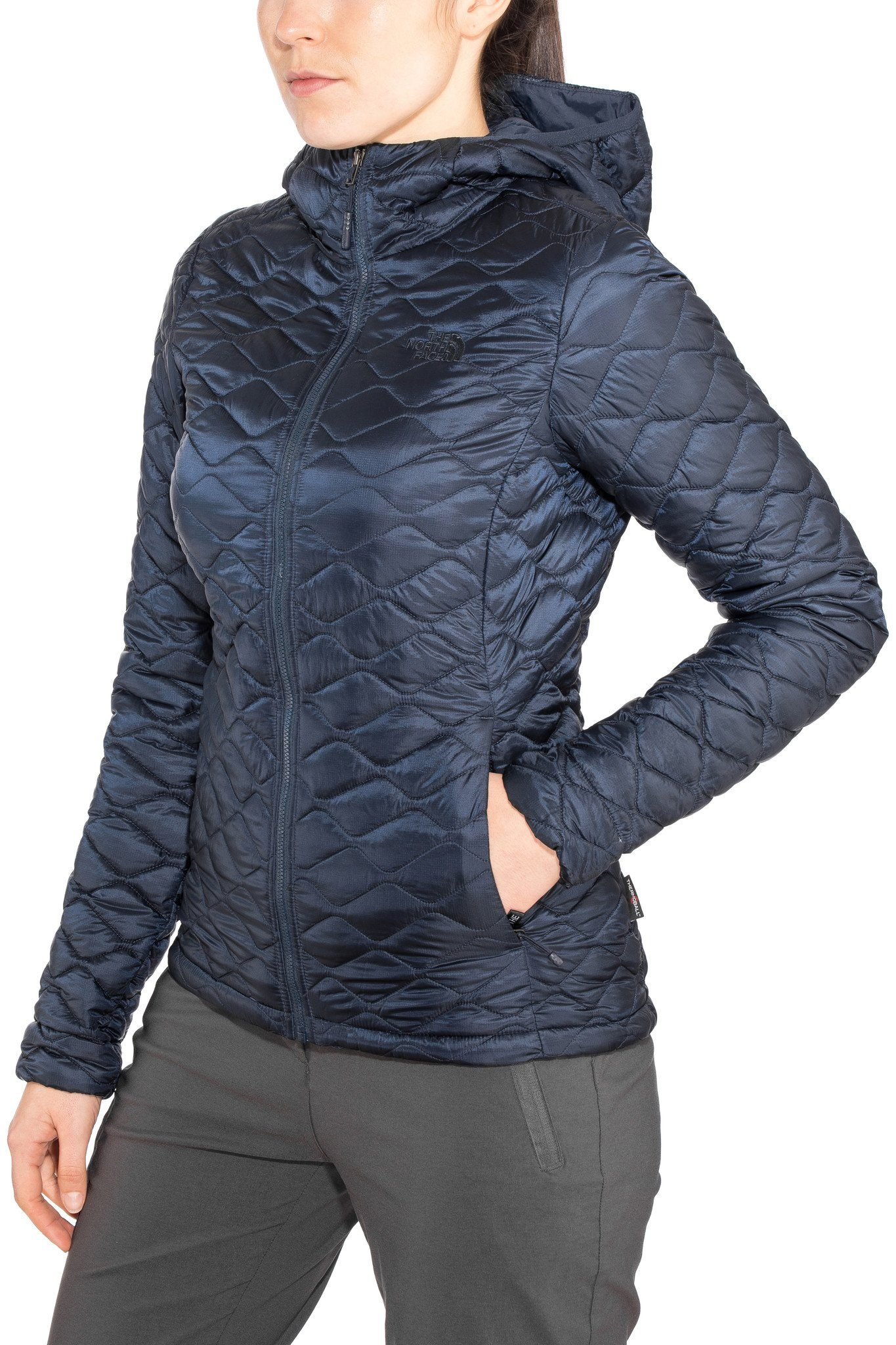Damen The North Face Outdoorjacke »Thermoball Pro Hoodie Jacket Damen« blau | 00191930352168