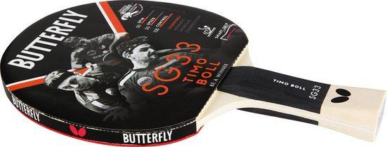 "Butterfly Tischtennisschläger »Timo Boll SG33«, Einzigartige Grifftechnologie ""smart.grip"""
